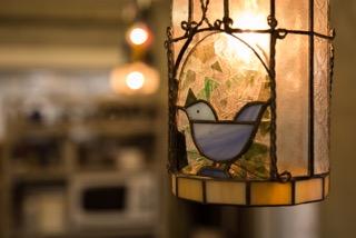 ランプ鳥かご