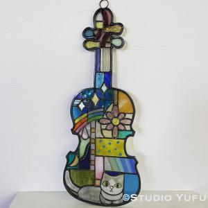 2102ネコバイオリン1